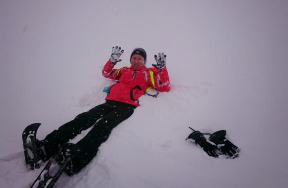Snow Hiking Alpstein