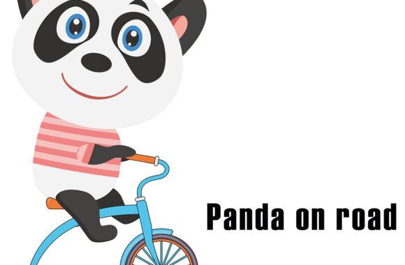 Panda takes a journey